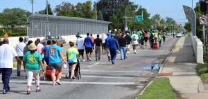 Toledo's third annual African American Male Wellness Walk was held August 15, 2015.