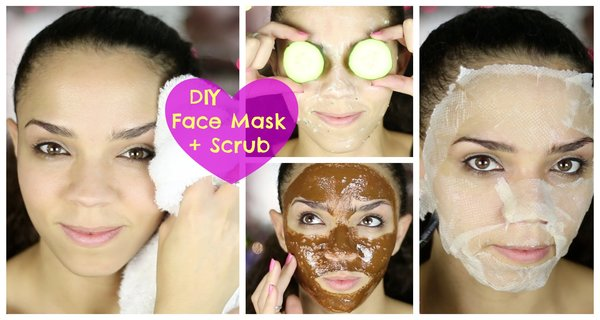 FACE MASK-HOMEMADE EXFOLIATING!