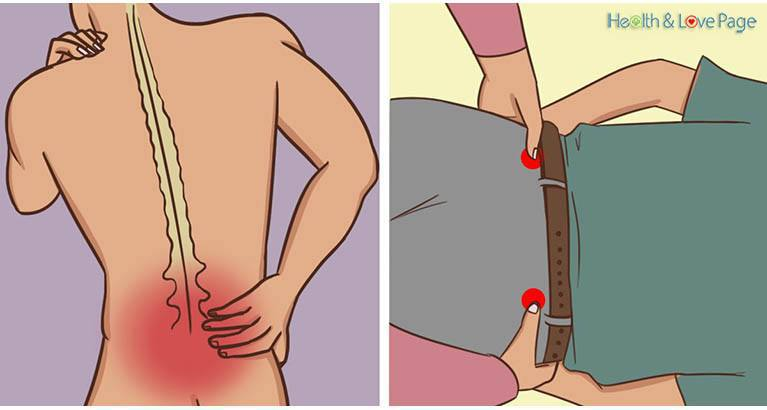 Press these 2 points near your hips to eliminate lower back pain, hip pain, leg pain, sciatica!