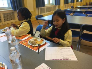Cold Lunch Taste Testers at St. Francis de Sales