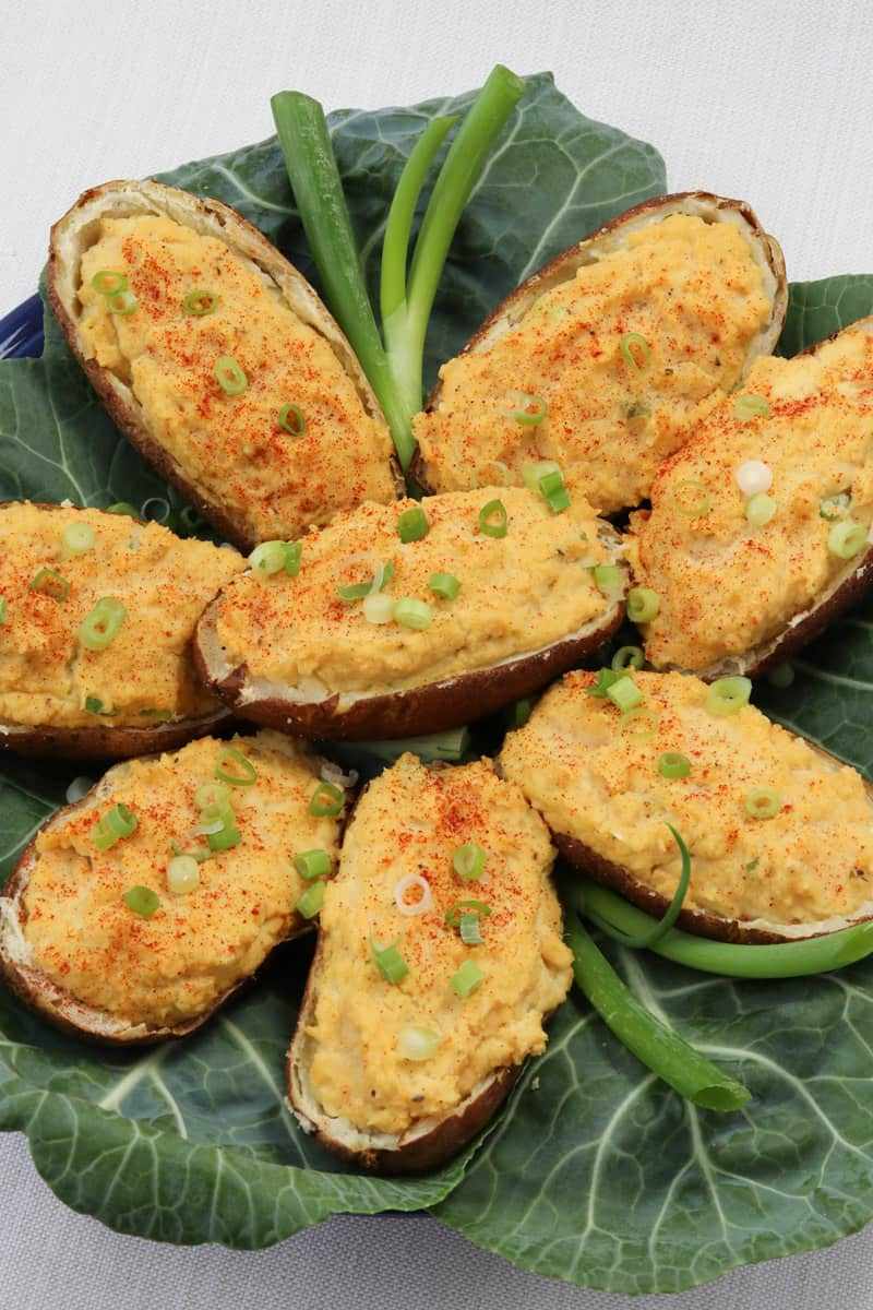 Healthy Twice Baked Potatoes