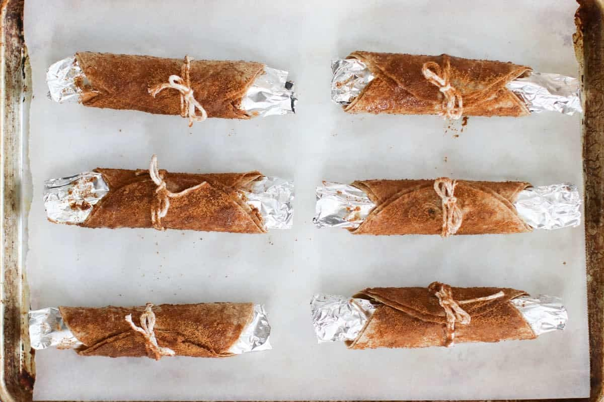 vegan cannolis