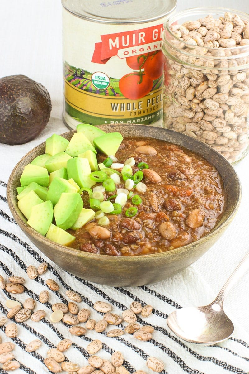 Best Damn Vegan Instant Pot Chili