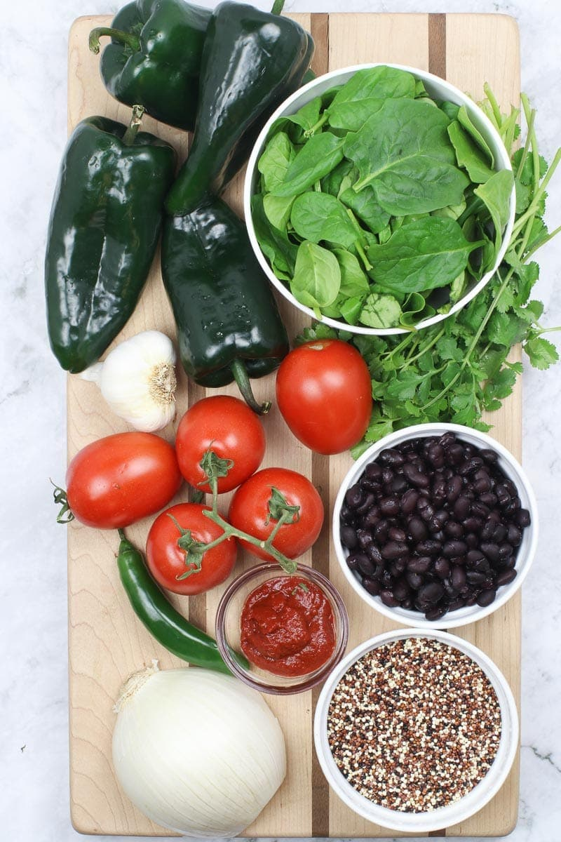 vegan chile relleno ingredients