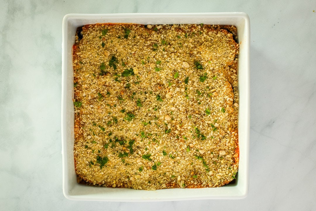Bake until hot & bubbly. Serve with fresh chopped parsley if desired.