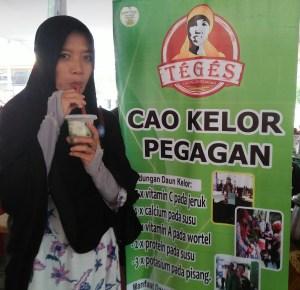 Mencicipi Cao Kelor Pegagan Bu Fat Yogyakarta