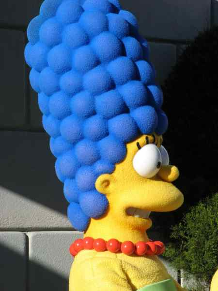 Marge Simpson Blue Hair