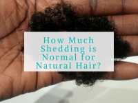 Natural Hair Shedding on Wash Day. How Much is Too Much