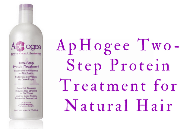 ApHogee Two-Step Protein Treatment for Natural Hair
