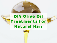 DIY Olive Oil Treatments for Natural Hair
