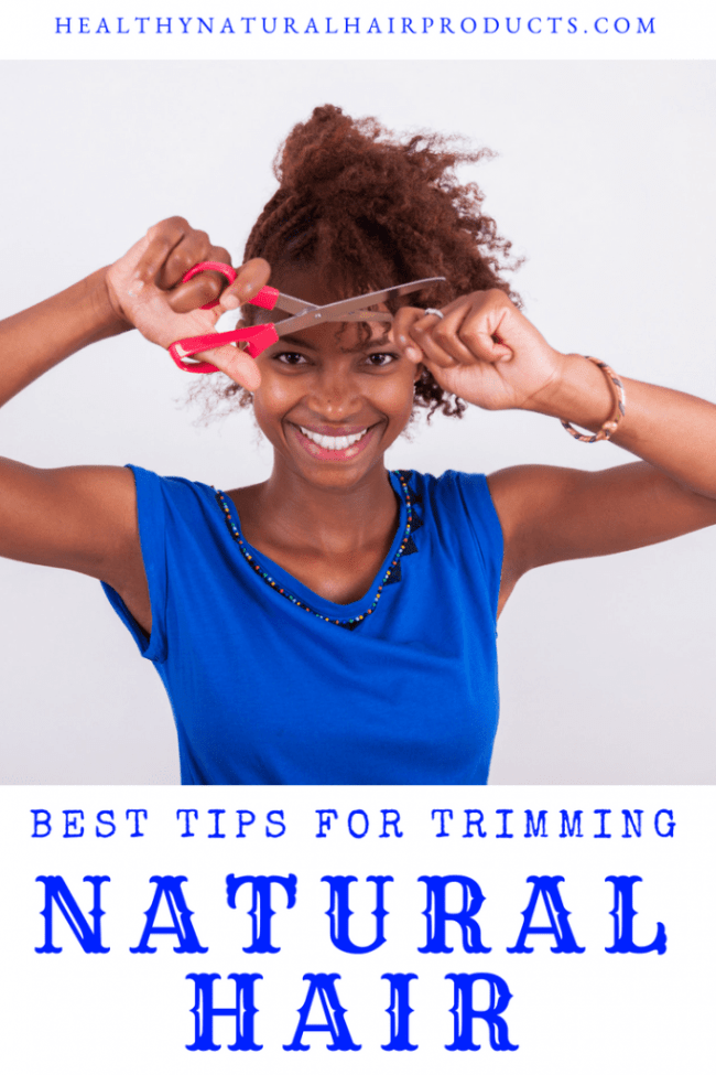 best tips for trimming natural hair