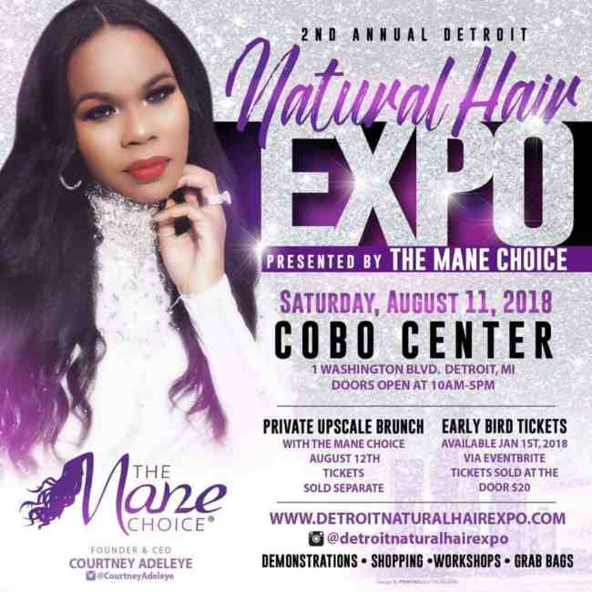 Detroit Natural Hair Expo 2018