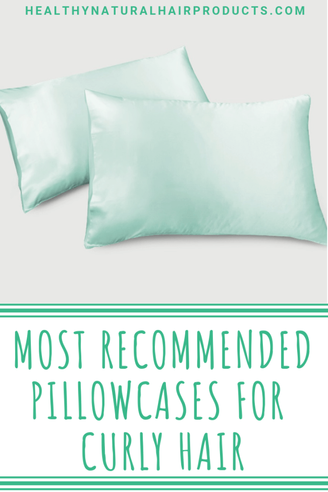 Best Recommended Silk Pillowcases for Curly Hair