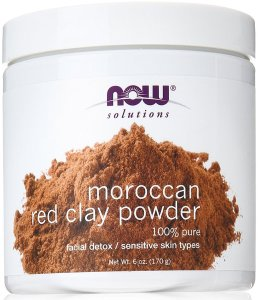 NOW Red Clay Powder Moroccan