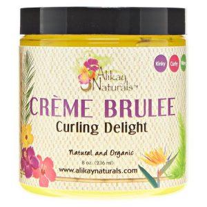 alikay naturals creme brulee, max hydration method