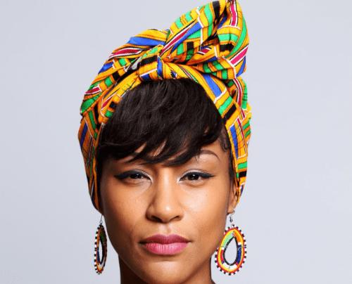 hair accessory Kente Turban Wax Ankara Headwrap