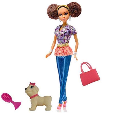 christmas gifts for kids, Queens of Africa Doll - Nneka