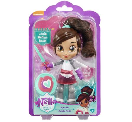 christmas gifts for natural kids, Nella the Prince Knight Style Me Doll