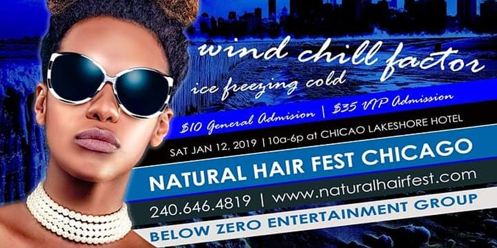 Natural Hair Festival Chicago Southside 2019