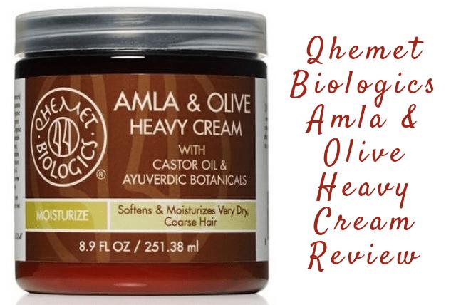 Qhemet Biologics Amla & Olive Heavy Cream Review