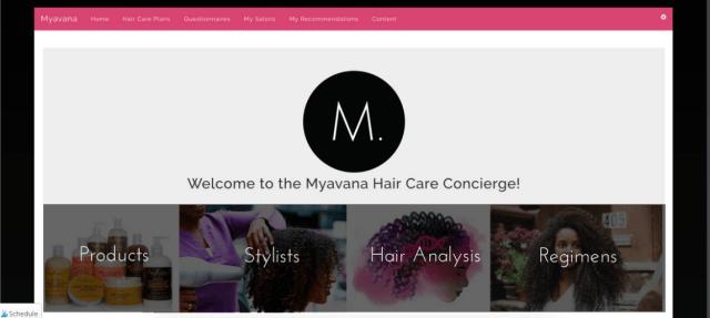 myavana beauty box