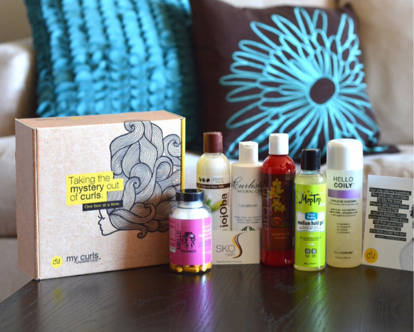 beauty subscription box, my curls understood