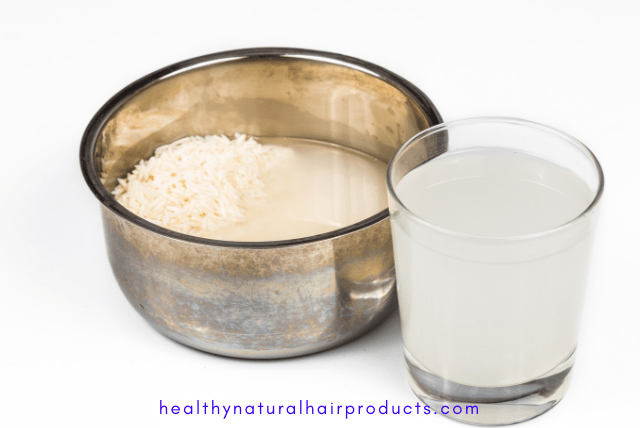 rice water for hair growth