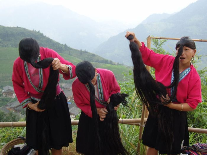 yao women china hair growth secret