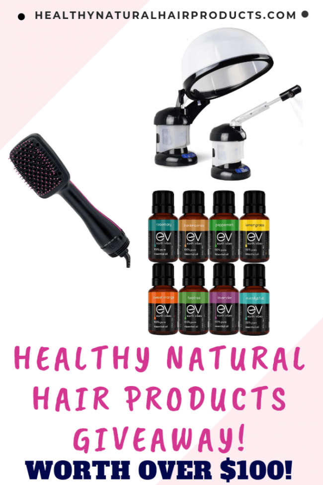 Healthy Natural Hair Products Giveaway 2019