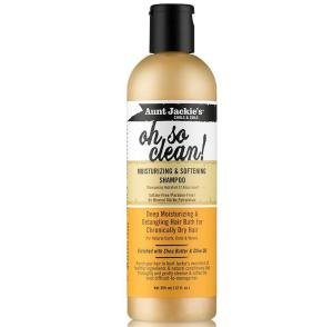 Aunt Jackie's Curls & Coils Oh So Clean! Moisturizing & Softening Shampoo