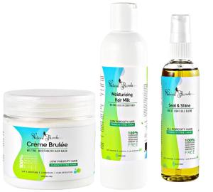 Natural Rizado Hair Care Gift Set