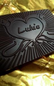 Sample of Lulu's Chocolate