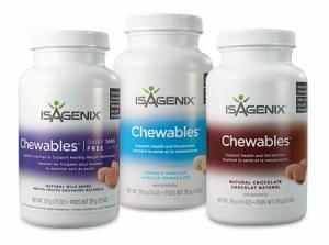 isagenix snacks chewables