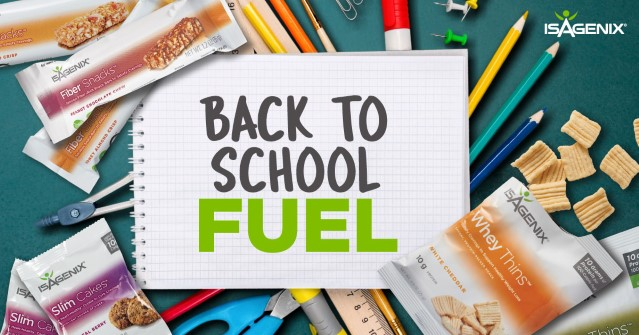 Back to School with Isagenix (and a Bonus Recipe!)