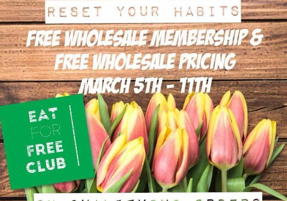 March Madness! Free Membership ($29 savings!) March 5 to 11!