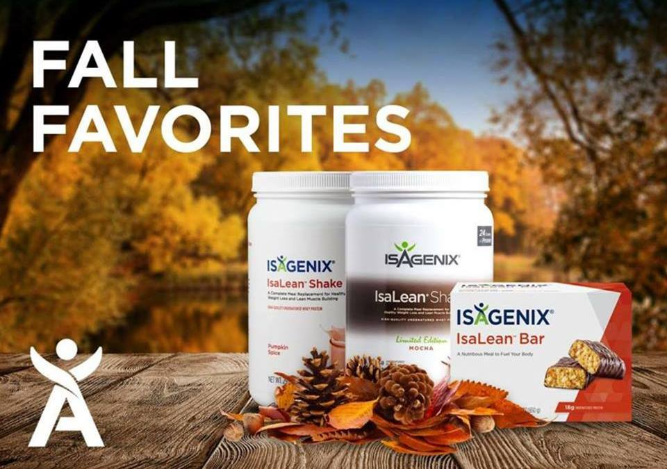 Fall Favourites – Isalean Mocha and Pumpkin Spice still available plus SMORES bars!