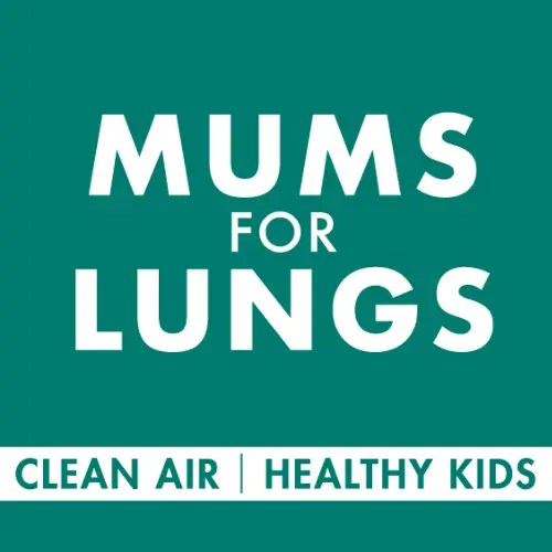 Mums For Lungs website