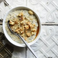 My Favorite Noatmeal (aka Low Carb Oatmeal)