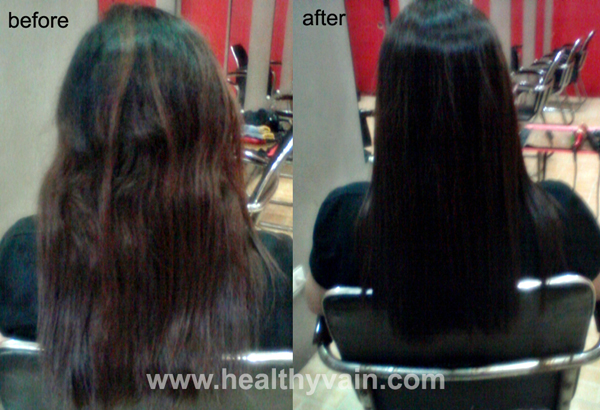 Japanese Straight Vs Hair Rebond Healthy Vain