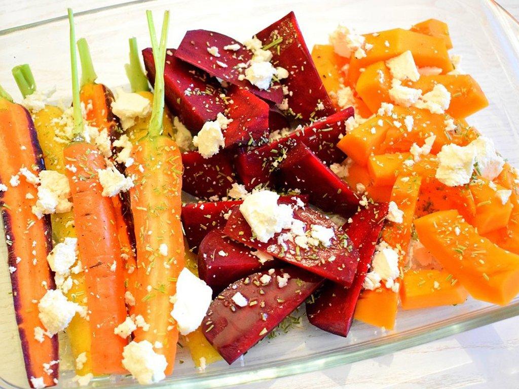 Herfstgroente uit de oven recept | Makkelijke maaltijd | Healthy Wanderlust
