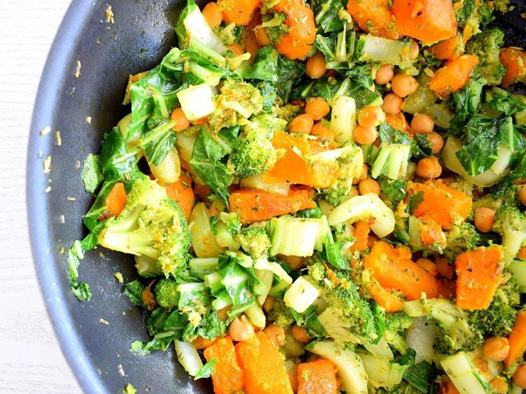 Couscous schotel met pompoen en paksoi | Vegetarisch recept