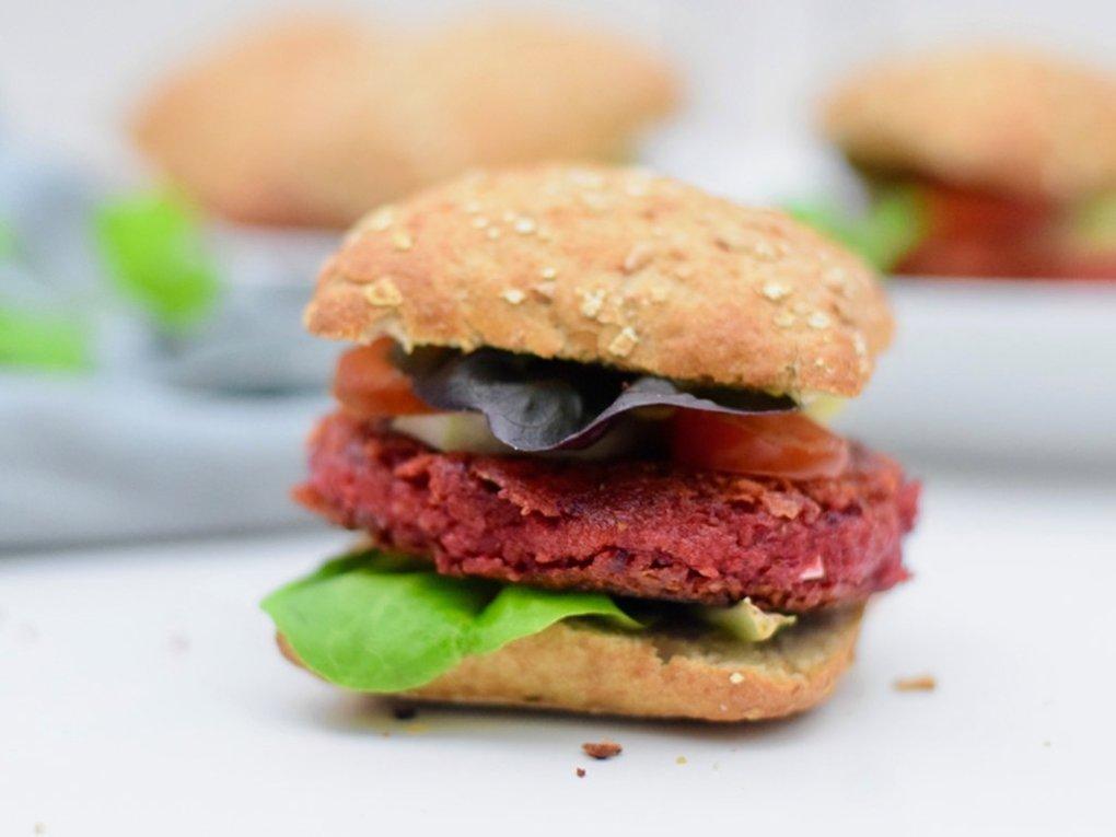 Bietenburgers | Lekkerste plantaardige burgers | Healthy Wanderlust