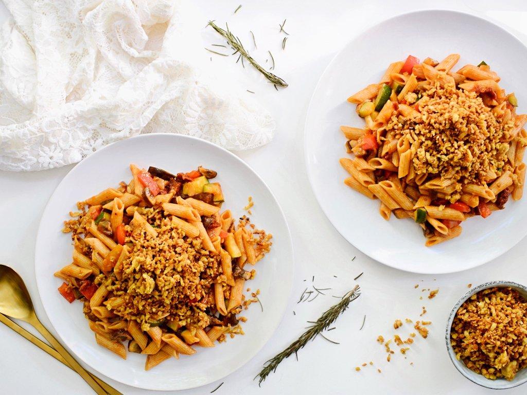 Rode tomatensaus | Makkelijke pasta saus | Healthy Wanderlust