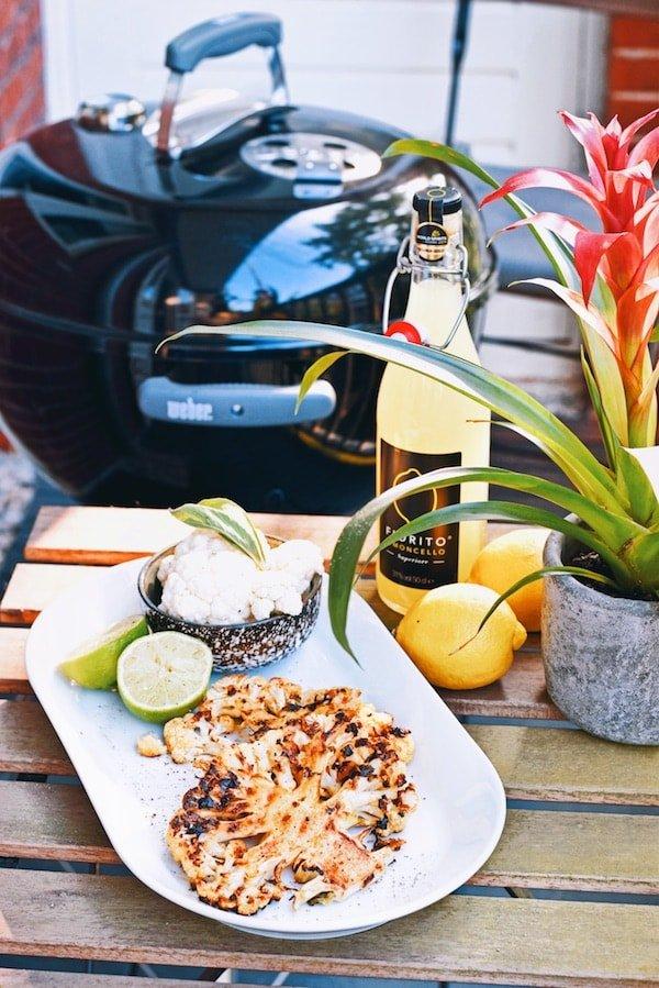 BBQ recept | Vegetarische bloemkool steak | Healthy Wanderlust