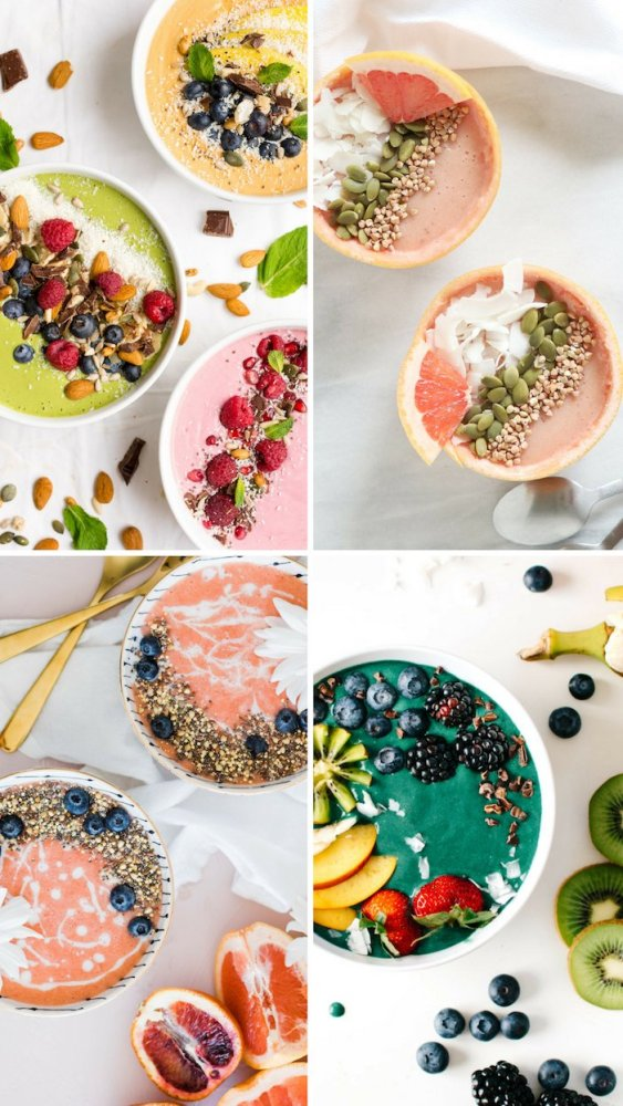10 x smoothie bowls | Ontbijt tips | Healthy Wanderlust