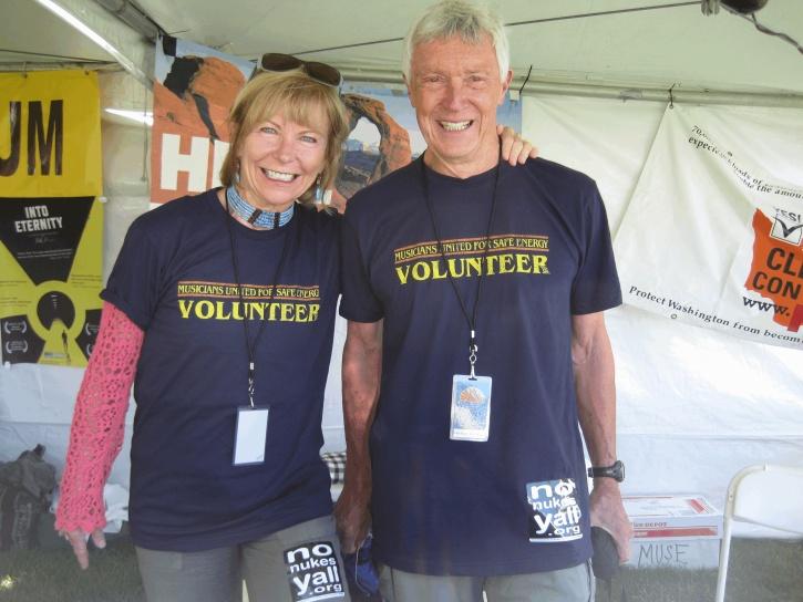 Co-presidents of the Board, Bob Archibald and Mary Ellen Navas
