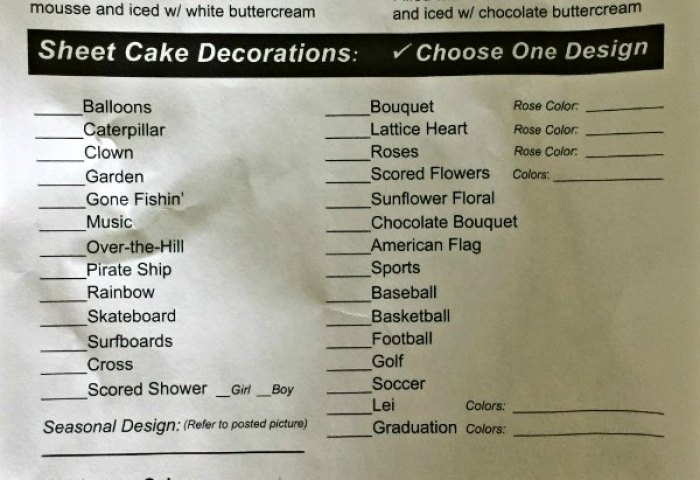 How To Order A Cake From Costco