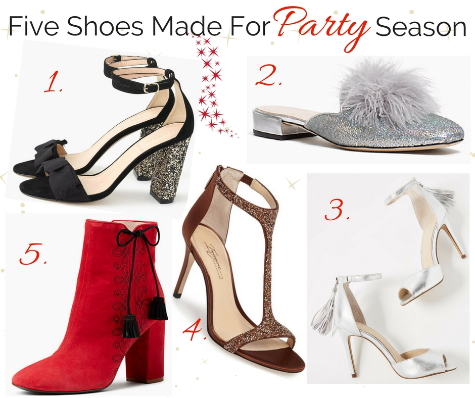 Five Shoes Made for Party Season