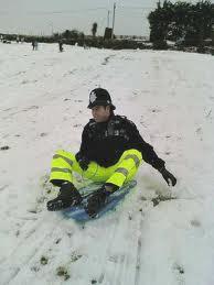 sledging police