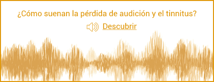 ¿Cómo suenan la pérdida de audición y el tinnitus?